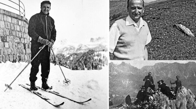 Eugenio Benecchi, poeta e alpinista